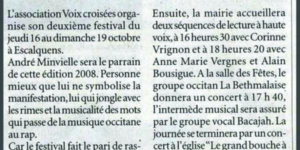02 - Festival Voix croisÇes